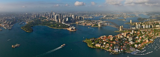 Sydney, Australia • AirPano.com • 360 Degree Aerial Panorama • 3D Virtual Tours Around the World