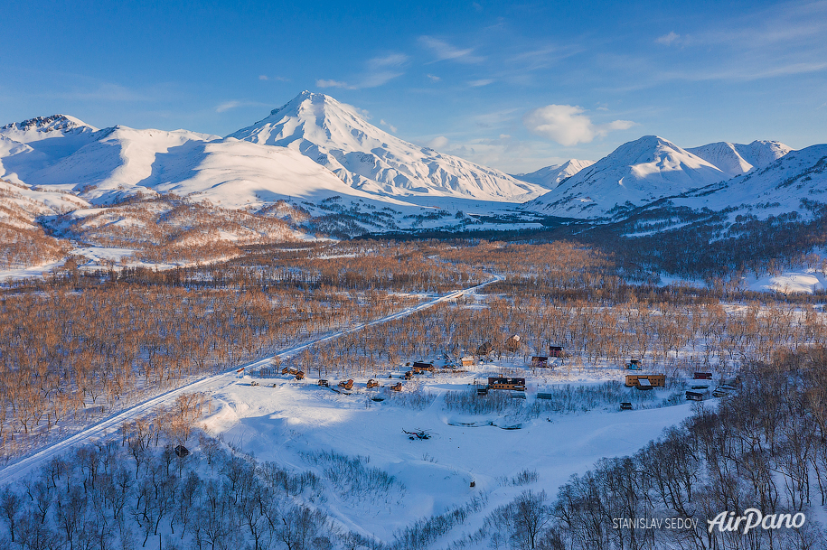 Snow Valley, Kamchatka, Russia