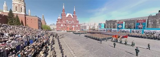 2015 Moscow Victory Day Parade • AirPano.com • 360� Aerial Panorama • 3D Virtual Tours Around the World