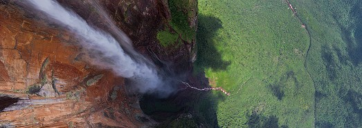 Angel Waterfall of Venezuela - The World's Highest Waterfall • AirPano.com • 360 Degree Aerial Panorama • 3D Virtual Tours Around the World