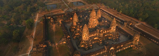 Angkor Wat, Cambodia • AirPano.com • 360 Degree Aerial Panorama • 3D Virtual Tours Around the World