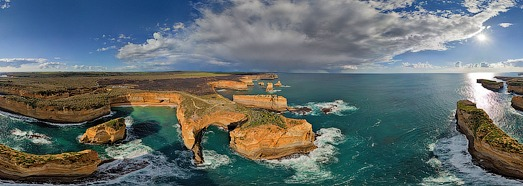 The Twelve Apostles, Australia • AirPano.com • 360 Degree Aerial Panorama • 3D Virtual Tours Around the World