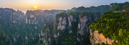 Zhangjiajie National Forest Park (Avatar Mountain), China • AirPano.com • 360° Aerial Panoramas • 360° Virtual Tours Around the World
