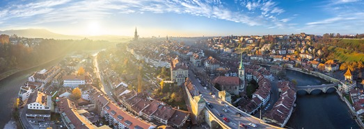 Bern, Switzerland • AirPano.com • 360° Aerial Panoramas • 360° Virtual Tours Around the World