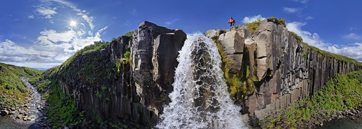 Waterfalls of Iceland - AirPano.com • 360 Degree Aerial Panorama • 3D Virtual Tours Around the World
