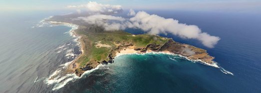 Cape of Good Hope, South Africa. The Most South-Western Point of Africa - AirPano.com • 360 Degree Aerial Panorama • 3D Virtual Tours Around the World