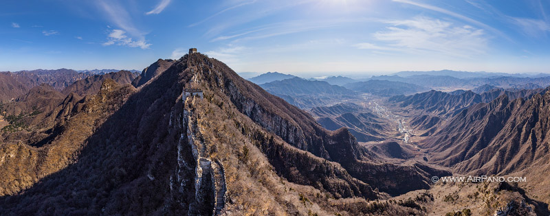 Great Wall of China. Jiankou Spot