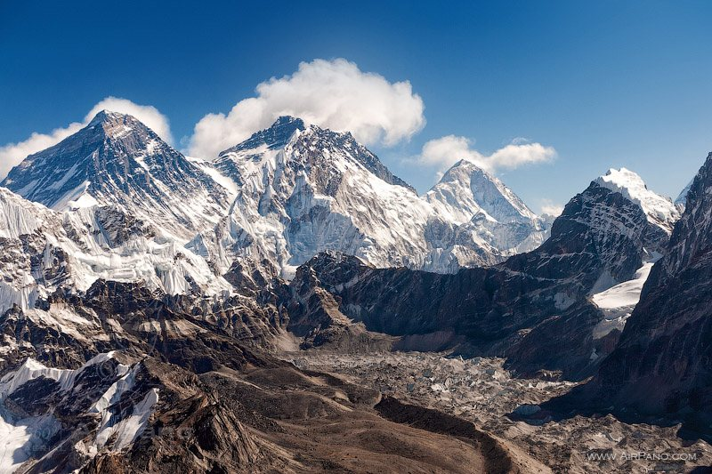View towards Everest