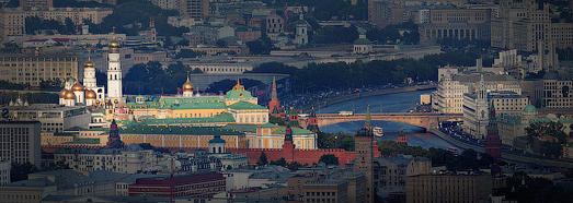 Moscow. The view from 300 meters above. Gigapanorama - AirPano.com • 360 Degree Aerial Panorama • 3D Virtual Tours Around the World