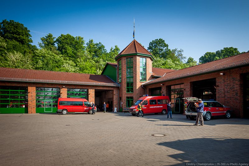 Fire Station in Germany
