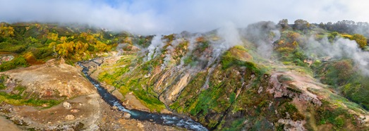 Valley of Geysers, Kamchatka, Russia. Part II • AirPano.com • 360° Aerial Panoramas • 360° Virtual Tours Around the World