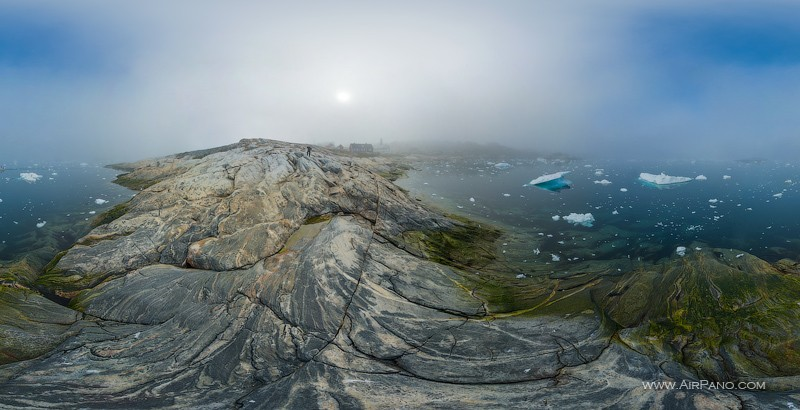 On the shore of Ilulissat