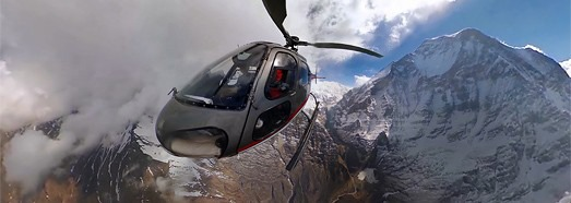 Central Himalayas • AirPano.com • 360° Aerial Panoramas • 360° Virtual Tours Around the World
