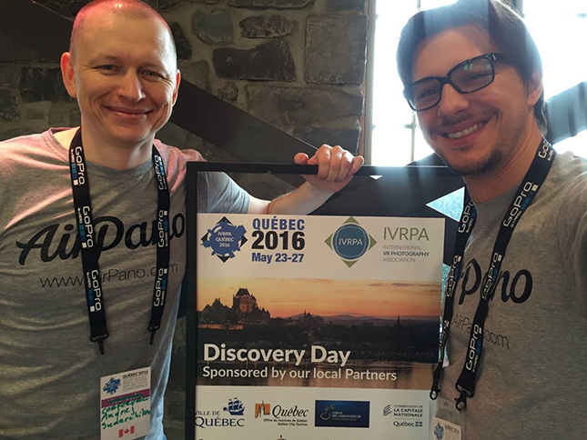 Andrey Sudarchikov and Sergey Semenov at the IVRPA Conference