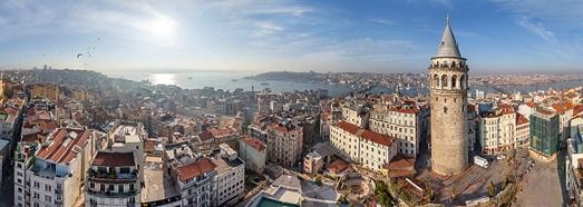 Istanbul, Turkey • AirPano.com • 360° Aerial Panoramas • 360° Virtual Tours Around the World