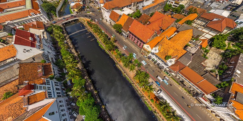 Above the Ciliwung River