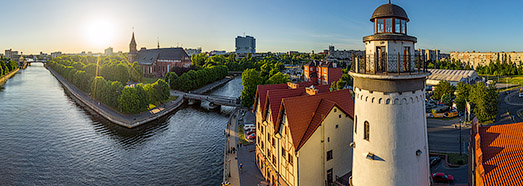 Kaliningrad, Russia • AirPano.com • 360° Aerial Panoramas • 3D Virtual Tours Around the World