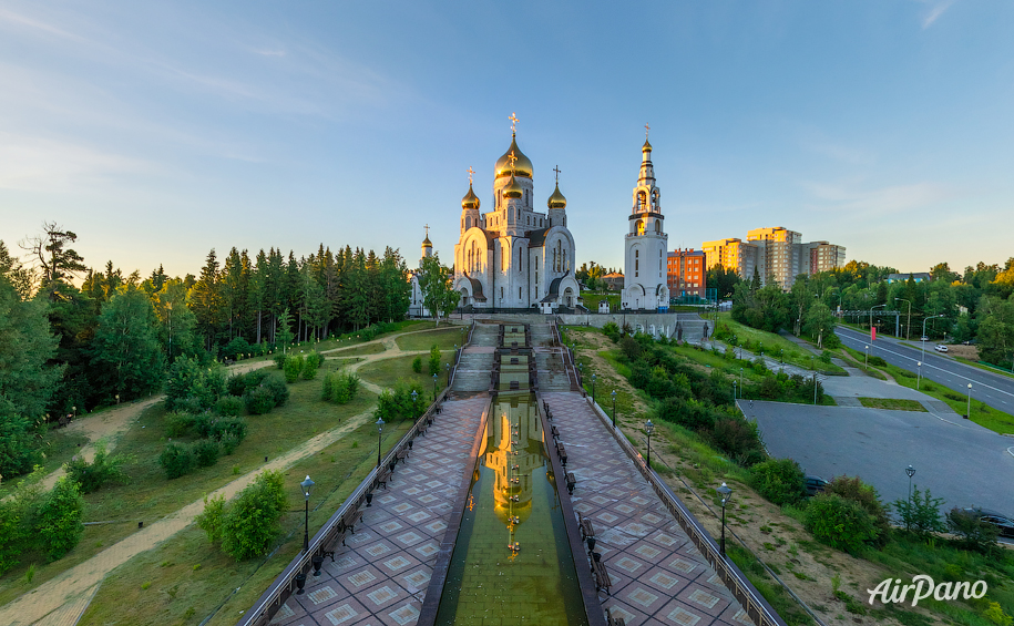 Temple Complex in Khanty-Mansiysk, Russia