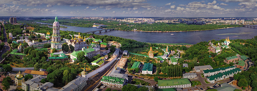 Kiev. Its Cathedrals and Monasteries  • AirPano.com • 360 Degree Aerial Panorama • 3D Virtual Tours Around the World