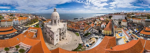 Lisbon, Portugal • AirPano.com • 360� Aerial Panorama • 3D Virtual Tours Around the World