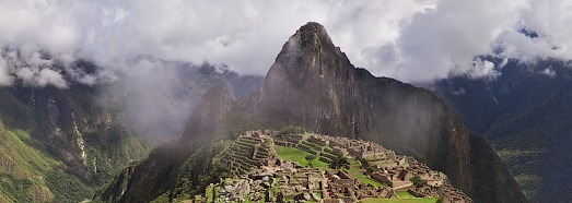 Machu Picchu - the ancient city of the Inca Empire • AirPano.com • 360 Degree Aerial Panorama • 3D Virtual Tours Around the World