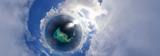 Maldives from the Plane • AirPano.com • 360 Degree Aerial Panorama • 3D Virtual Tours Around the World