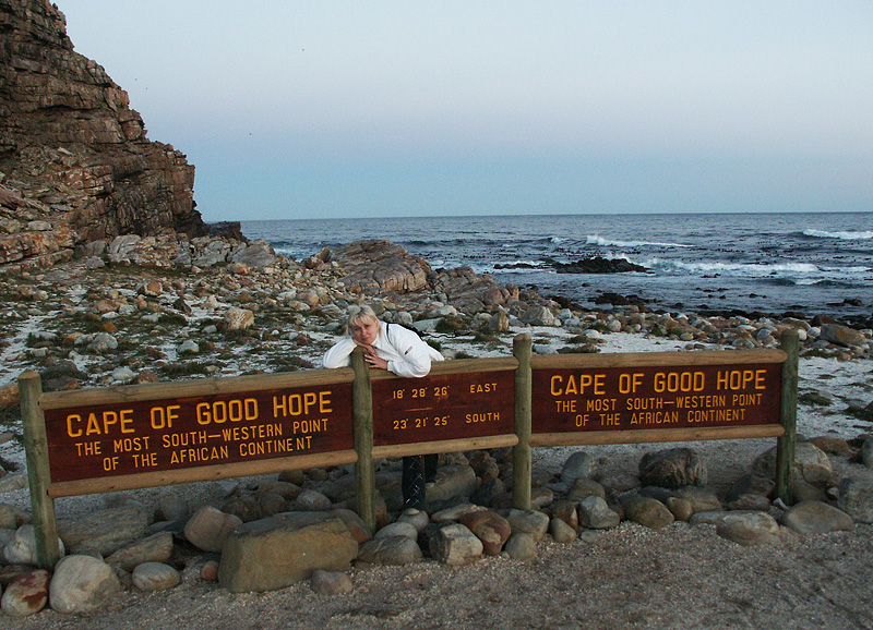 Cape of Good Hope South Africa The Most South Western Point of The African