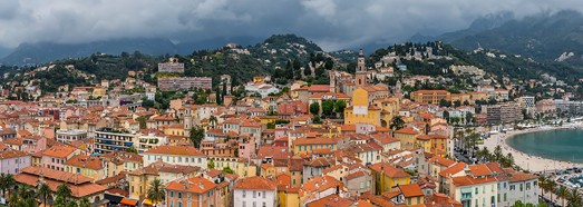 Cote d'Azur. Menton • AirPano.com • 360° Aerial Panoramas • 360° Virtual Tours Around the World