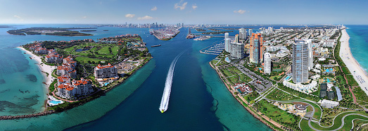 Miami, Florida, USA - AirPano.com • 360 Degree Aerial Panorama • 3D Virtual Tours Around the World