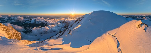 Mont Blanc, Italy-France • AirPano.com • 360� Aerial Panorama • 3D Virtual Tours Around the World