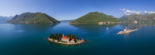 Montenegro, Kotor Bay - AirPano.com • 360 Degree Aerial Panorama • 3D Virtual Tours Around the World