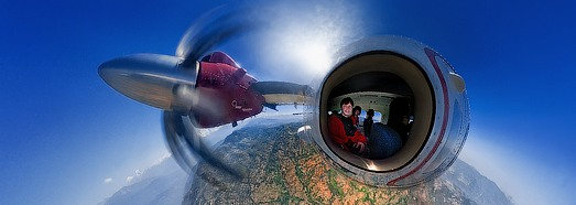 Unreal Aircraft of Ivan Roslyakov • AirPano.com • 360 Degree Aerial Panorama • 3D Virtual Tours Around the World