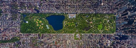 Day view of Manhattan, New York, USA • AirPano.com • 360 Degree Aerial Panorama • 3D Virtual Tours Around the World