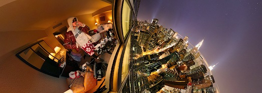 New York, Manhattan, Night • AirPano.com • 360 Degree Aerial Panorama • 3D Virtual Tours Around the World