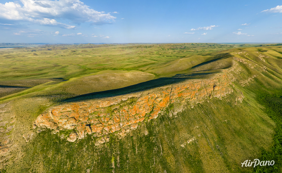 Orenburg Nature Reserve. Aytuarskaya Steppe