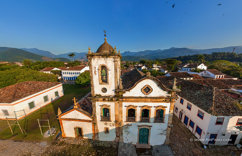 Chapel of Saint Rita. The oldest church of Paraty
