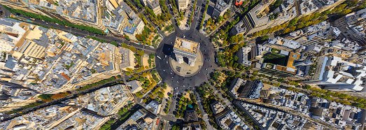 Paris, France • AirPano.com • 360 Degree Aerial Panorama • 3D Virtual Tours Around the World