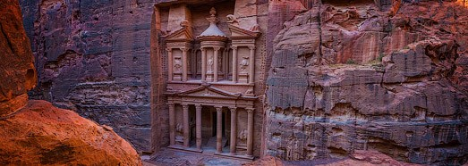Ancient city Petra, Jordan • AirPano.com • 360° Aerial Panoramas • 360° Virtual Tours Around the World