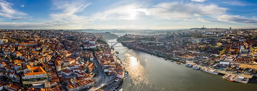 Porto, Portugal • AirPano.com • 360° Aerial Panoramas • 360° Virtual Tours Around the World