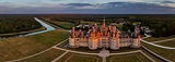 Chateaux of the Loire Valley, France. Part II - AirPano.com • 360 Degree Aerial Panorama • 3D Virtual Tours Around the World