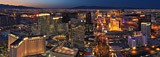 Las Vegas at Dusk and Night