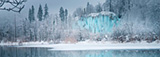Plitvice Lakes National Park in Winter, Croatia - AirPano.com • 360 Degree Aerial Panorama • 3D Virtual Tours Around the World