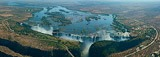 Victoria Falls, Zambia and Zimbabwe border • AirPano.com • 360 Degree Aerial Panorama • 3D Virtual Tours Around the World