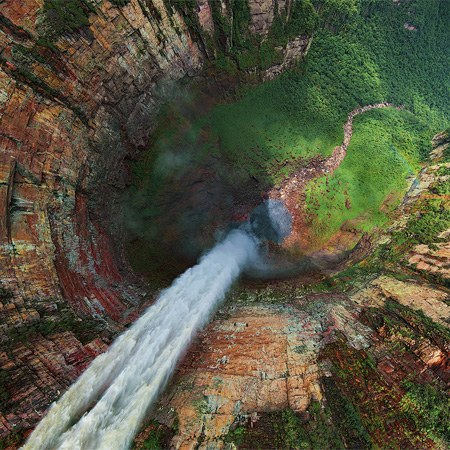 Dragon and Cortina falls, Venezuela