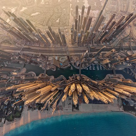 Virtual Tour of Dubai City, UAE