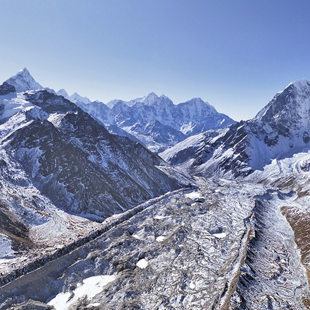 Everest, Himalayas, Nepal, Part I, January 2012