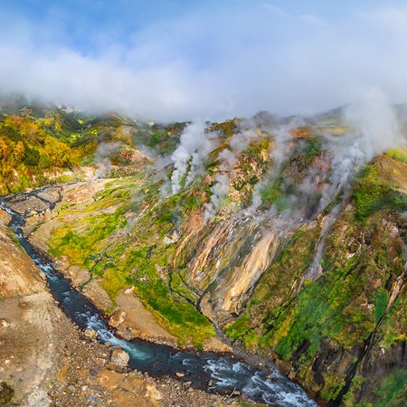 Valley of Geysers, Kamchatka, Russia. Part II