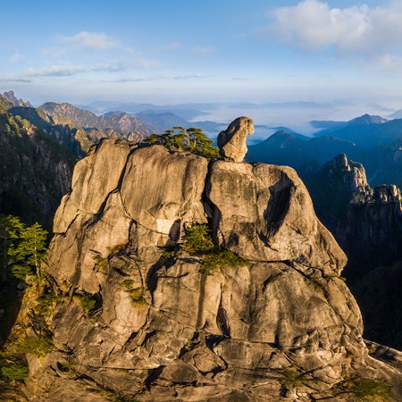 Huangshan mountains, China. Part II