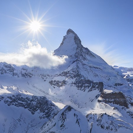The Matterhorn Mountain, Switzerland