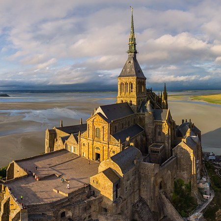 Abbey Mont Saint-Michel, France